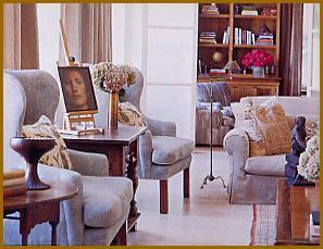 Furniture with Custom Slip Covers