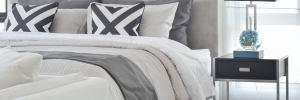 Improve your sleep with custom quality bedding.