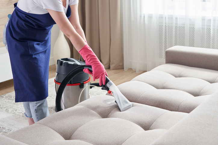 Clean your couch to help preserve it.